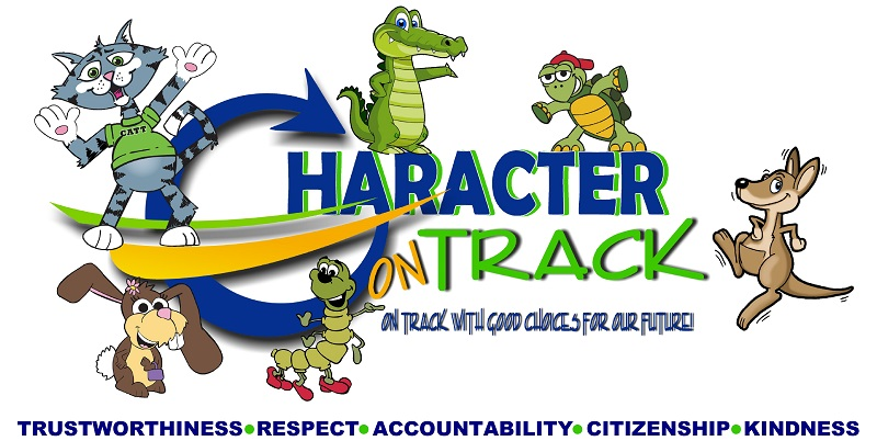 Character Track logo wchrara-words
